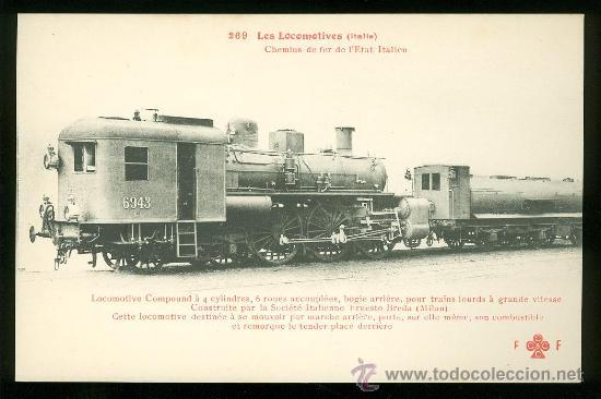 TARJETA POSTAL DE TREN. FLEURY. Nº 269. (Postales - Postales Temáticas - Trenes y Tranvías)