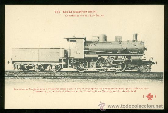 TARJETA POSTAL DE TREN. FLEURY. Nº 266. (Postales - Postales Temáticas - Trenes y Tranvías)
