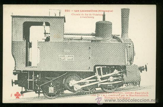 TARJETA POSTAL DE TREN. FLEURY. Nº 220. (Postales - Postales Temáticas - Trenes y Tranvías)
