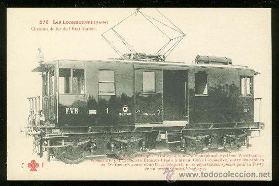 TARJETA POSTAL DE TREN. FLEURY. Nº 273. (Postales - Postales Temáticas - Trenes y Tranvías)