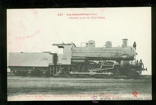 TARJETA POSTAL DE TREN. FLEURY. Nº 223. (Postales - Postales Temáticas - Trenes y Tranvías)