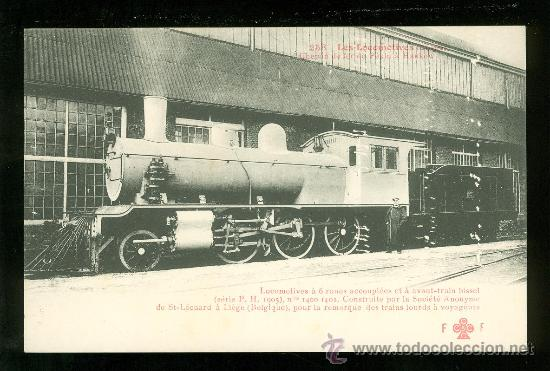 TARJETA POSTAL DE TREN. FLEURY. Nº 258. (Postales - Postales Temáticas - Trenes y Tranvías)