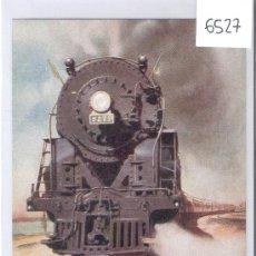 Postales: TRENES ELECTRICOS- E. IMBERT- POR DETRAS EN BLANCO- (6527). Lote 27397633