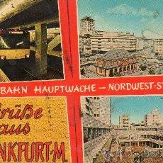 Postales: TREN EUROPA. Lote 27706633