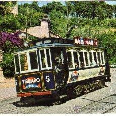 Postales: BONITA POSTAL - BARCELONA - TRAMVIA-BLAU - EDICIONS FERROVIARIES NUM. 1. Lote 28211160