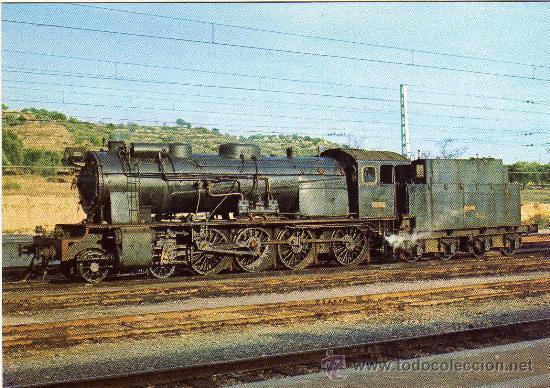BONITA POSTAL - LOCOMOTORA - MORA LA NOVA - EDICIONS FERROVIARIES NÚM. 7 (Postales - Postales Temáticas - Trenes y Tranvías)