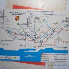 Postales: POSTAL METRO - TRANSPORTS SUBTERRANIS DE BARCELONA. Lote 28637505