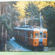 Postales: POSTAL COLECCION RENFE. SERIE TE-8. CERCEDILLA-NAVACERRADA Y PUERTO DE COTOS. AÑO 1976.. Lote 29114238