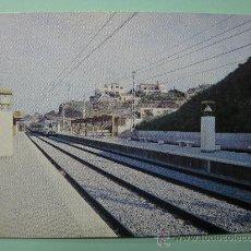 Postales: POSTAL COLECCION RENFE. SERIE E-23. TORREMOLINOS. ARROYO DE LA MIEL. MÁLAGA-FUENGIROLA. AÑO 1978.. Lote 29114796