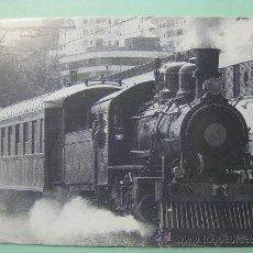 Postales: POSTAL ASOCIACIÓN AMIGOS FERROCARRIL ZARAGOZA. REPRODUCE LOCOMOTORA BALDWING. 1991.. Lote 87178995