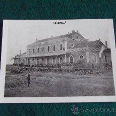 Postales: ESTACION ANGLO VASCO ESPAÑOL-VITORIA 1889-Nº13-ASAFER. Lote 29349518