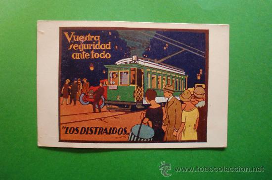 TRANVIAS DE BARCELONA S.A. SECCION DE PROPAGANDA EXPOSICIÓN INTERNACIONAL DE BARCELONA 1929 (Postales - Postales Temáticas - Trenes y Tranvías)