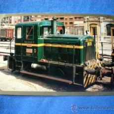 Postales: POSTAL LOCOMOTORA DIESEL 301-028-7 Nº 82 M.T.M. 1961 NO CIRCULADA. Lote 30447919