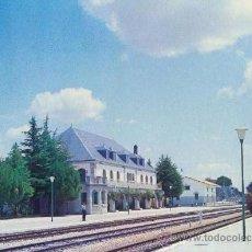 Postales: ESTACION COLMENAR VIEJO - FERROCARRIL MADRID - BURGOS - SERIE E 18 RENFE. Lote 147915428