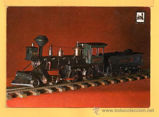 POSTAL LOCOMOTORA EDICION ESCUDO DE ORO ESCRITA EL AÑO 1968 (Postales - Postales Temáticas - Trenes y Tranvías)