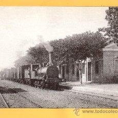Postales: LOCOMOTORA VAPOR FOTO EN CAMBRILS Nº 4152 EDITADA POR EUROFER AMIGOS DEL FERROCARRIL BARCELONA. Lote 32054264