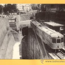 Postales: BARCELONA OBRAS A LA PLAZA MOLINA 1929 Nº 4223 EDICION EUROFER AMIGOS DEL FERROCARRIL BARCELONA. Lote 32054402
