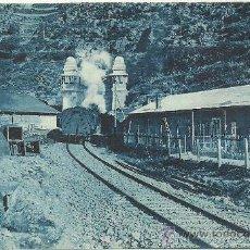 Postales: FERROCARRIL TRANSPIRENAICO TUNEL DE TOSAS ROISIN. Lote 32315402