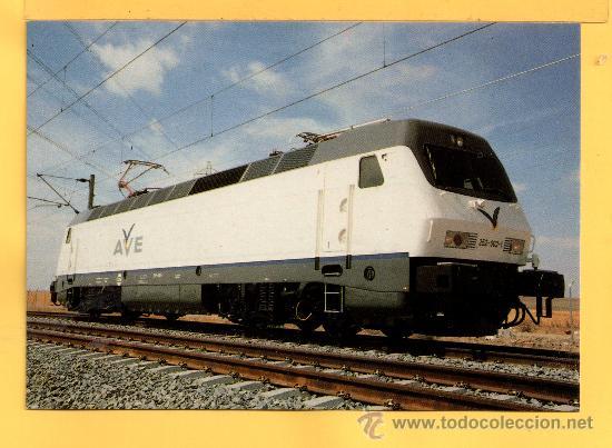 POSTAL DE TRENES LOCOMOTORA AVE FABRICADA CASA SIEMEN Nº 306 SIN CIRCULAR (Postales - Postales Temáticas - Trenes y Tranvías)