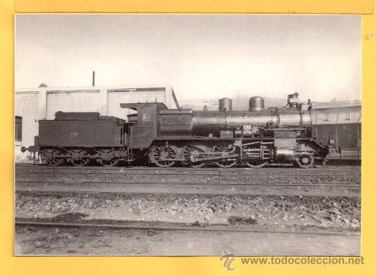 POSTAL DE TRENES LOCOMOTORA VAPOR DEL NORTE Nº 4250 SIN CIRCULAR (Postales - Postales Temáticas - Trenes y Tranvías)