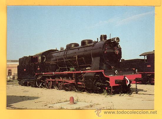 POSTAL DE TRENES LOCOMOTORA VAPOR MZA VILANOVA I LA GELTRÚ Nº 340 SIN CIRCULAR (Postales - Postales Temáticas - Trenes y Tranvías)