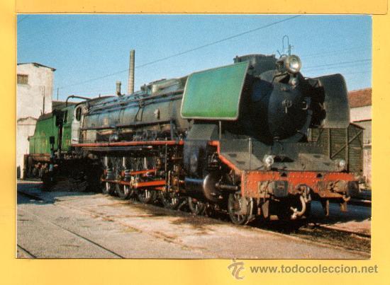 POSTAL DE TRENES LOCOMOTORA VAPOR MTM Nº 697 SIN CIRCULAR (Postales - Postales Temáticas - Trenes y Tranvías)