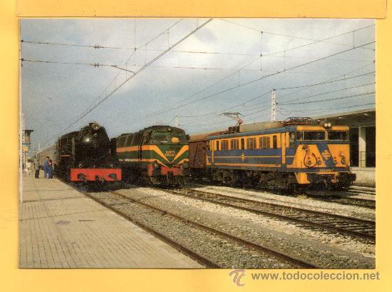 POSTAL DE TRENES LOCOMOTORA VAPOR Nº 797 SIN CIRCULAR EDICION EUROFER AMIGOS DEL FERROCARIL (Postales - Postales Temáticas - Trenes y Tranvías)