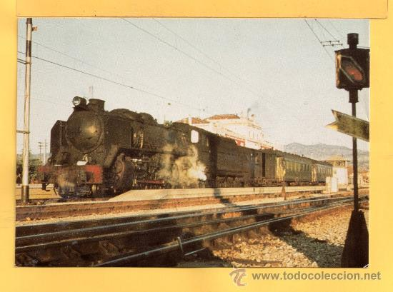POSTAL DE TRENES LOCOMOTORA VAPOR Nº 670 SIN CIRCULAR EDICION EUROFER AMIGOS DEL FERROCARIL (Postales - Postales Temáticas - Trenes y Tranvías)