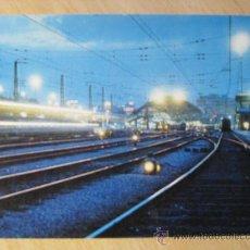 Postales: POSTAL RENFE. SERIE E-2. SEÑALIZACIÓN FERROVIARIA. ESTACIÓN DE ATOCHA. MADRID. AÑO 1973.. Lote 33671857