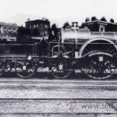Postales: POSTAL FOTOGRÁFICA THE EARLY STEAM ERA I BROAD GAUGE LORD OF THE ISLES SIN CIRCULAR 1970. Lote 33693688