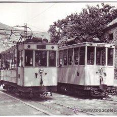 Postales: TRANVÍA FERROCARRIL DE GRANADA A SIERRA NEVADA: CRUCE DE MOTRICES 1 Y 2 EN PINOS GENIL (1966). Lote 34060088