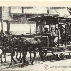 Postales: TRAMVIES DE BARCELONA A CAVALLS. ITINERARI PLAÇA DE CATALUNYA-GRÀCIA. ANY 1910.. Lote 34582688