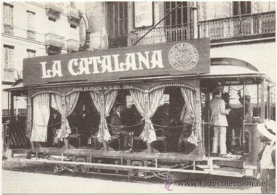 TRANVÍA DE BARCELONA, SERIE 125-132, TIPO JARDINERAS, CONSTRUIDO POR CAN GIRONA EN EL AÑO 1906. (Postales - Postales Temáticas - Trenes y Tranvías)