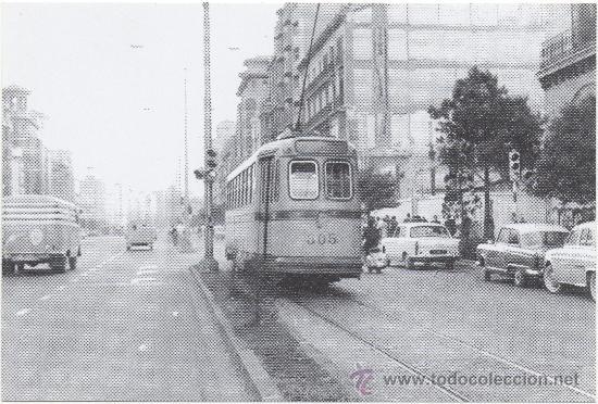 TRANVÍA DE ZARAGOZA. COCHE Nº 300, FABRICADO POR CARDE Y ESCORIAZA EN 1913. (Postales - Postales Temáticas - Trenes y Tranvías)