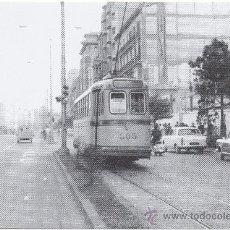 Postales: TRANVÍA DE ZARAGOZA. COCHE Nº 300, FABRICADO POR CARDE Y ESCORIAZA EN 1913.. Lote 34941256