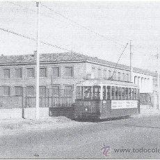 Postales: TRANVÍA DE ZARAGOZA. COCHE NÚM. 113, LÍNEAS DEL BAJO ARAGÓN Y CASABLANCA. PRINCIPIOS AÑOS 60.. Lote 34941419