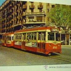 Postales: POSTAL BARCELONA TRANVIA 22-EDIC. FERROVIARIAS. Lote 35843116