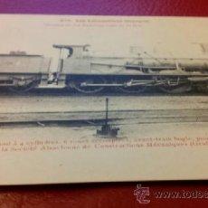 Postales: POSTAL FERROCARRILES LOCOMOTORA 305 ANDALUCES - RENFE 4115 - 1903 ED. FLEURY. Lote 36720419