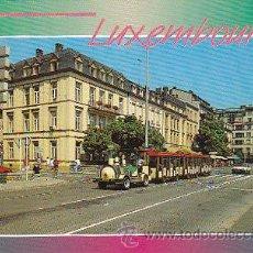 Postales: TREN TURISTICO DE LUXEMBURGO. Lote 36924629