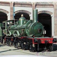 Postales: POSTAL RENFE LOCOMOTORA Nº9 DEL OESTE. Lote 37265662