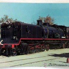 Postales: POSTAL RENFE LOCOMOTORA GARRAT. Lote 37265810