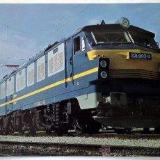 Postales: POSTAL RENFE LOCOMOTORA 251. Lote 37265836