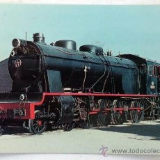 Postales: POSTAL RENFE LOCOMOTORA 1400. Lote 37265868