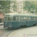 Postales: TRAMVIA DE BARCELONA. COTXE 1601 EX WASHINGTON, CONSTRUÏT PER SAINT LOUIS CAR (USA), SERVEI EN 1963.. Lote 37413794
