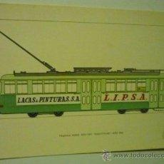 Postales: POSTAL 41 TRANVIA MAQUITRANS -SERIE EDIC.EXPECIAL TRANSPORTES BARCELONA-CENTENARIO TRANVIA. Lote 38215075