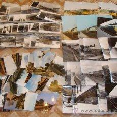 Postales: GRAN LOTE DE 330 FOTOGRAFÍAS DE TRENES, LOCOMOTORAS, VAGONES. INGLATERRA. AÑOS 70 80. . Lote 38604023