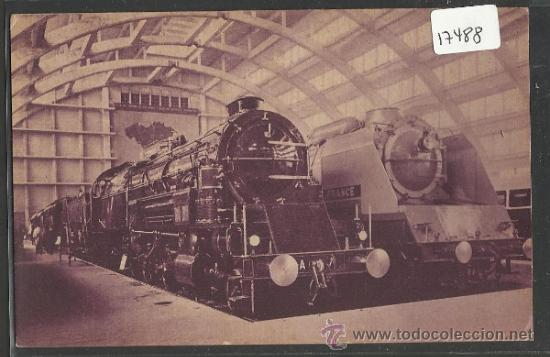 LOCOMOTORA - LA PREMIERE LOCOMOTIVE DE 1835 - ED·PIM - BRUXELLES 1835- (17489) (Postales - Postales Temáticas - Trenes y Tranvías)