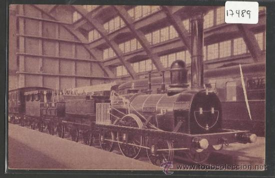 TREN - LE TRAIN RENAULT - BRUXELLES 1935 - (17490) (Postales - Postales Temáticas - Trenes y Tranvías)