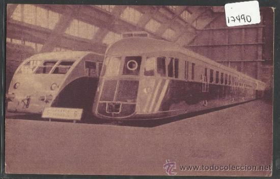 LOCOMOTORA - LA PREMIERE LOCOMOTIVE DE 1835 - ED·PIM - BRUXELLES 1935- (17490) (Postales - Postales Temáticas - Trenes y Tranvías)