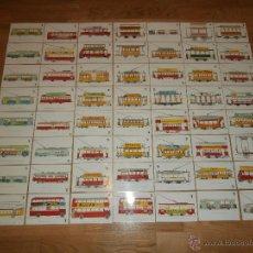 Postales: COLECCIÓN COMPLETA DE 56 POSTALES \ TRANSPORTES DE BARCELONA \ CENTENARIO TRANVÍA \ 1872 - 1972. Lote 39882106